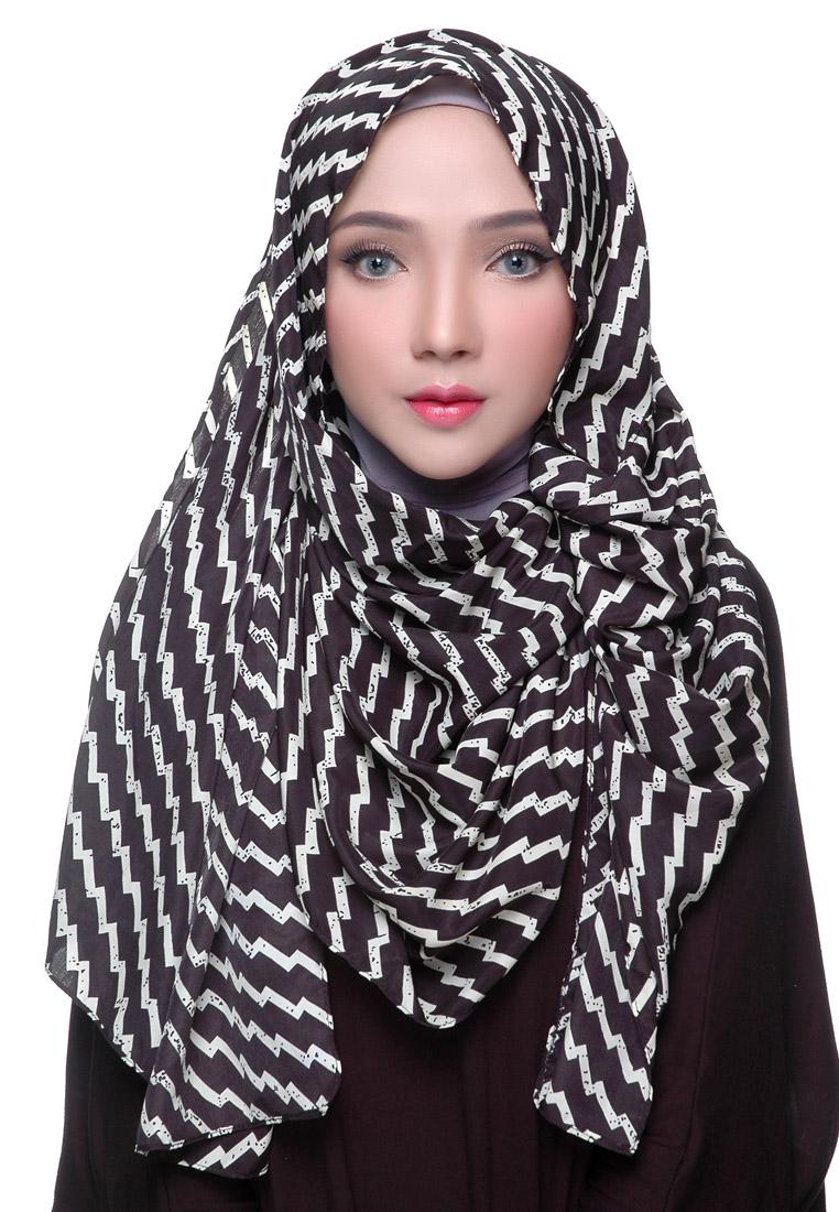Diindri Hijab Pashmina Motif Lightning