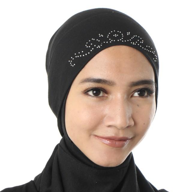 Diindri Hijab Ciput Inner Blink Black: Rp 55.000