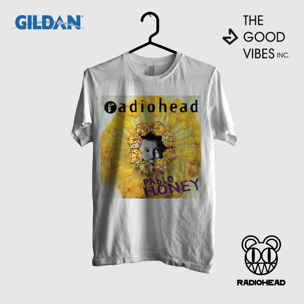 Kaos Band RadioHead Original Gildan - Pablo Honey