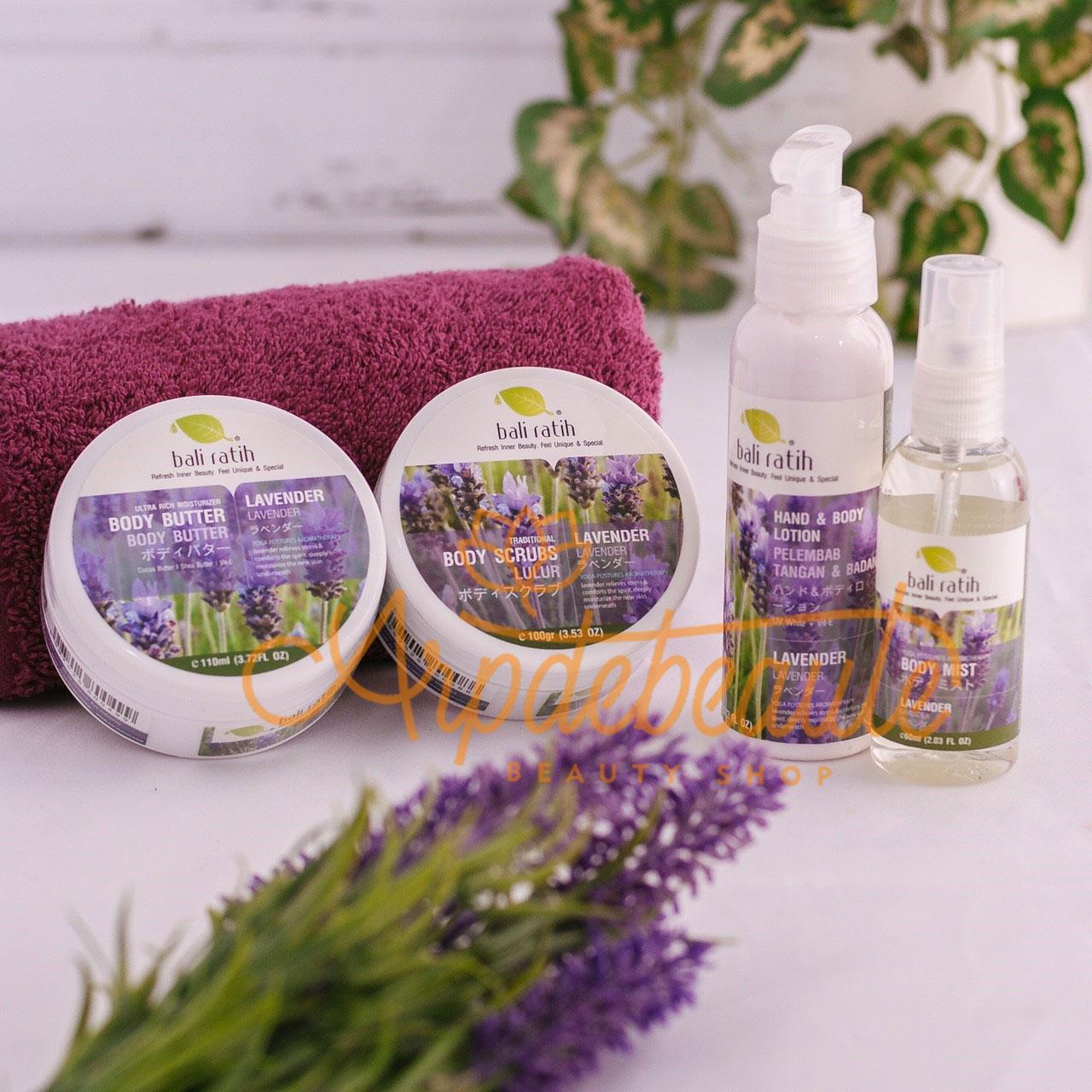 Bali Ratih Body Scrub 110ml Lavender Daftar Harga Terlengkap Indonesia Butter Sekar Jagat Paket Cantik