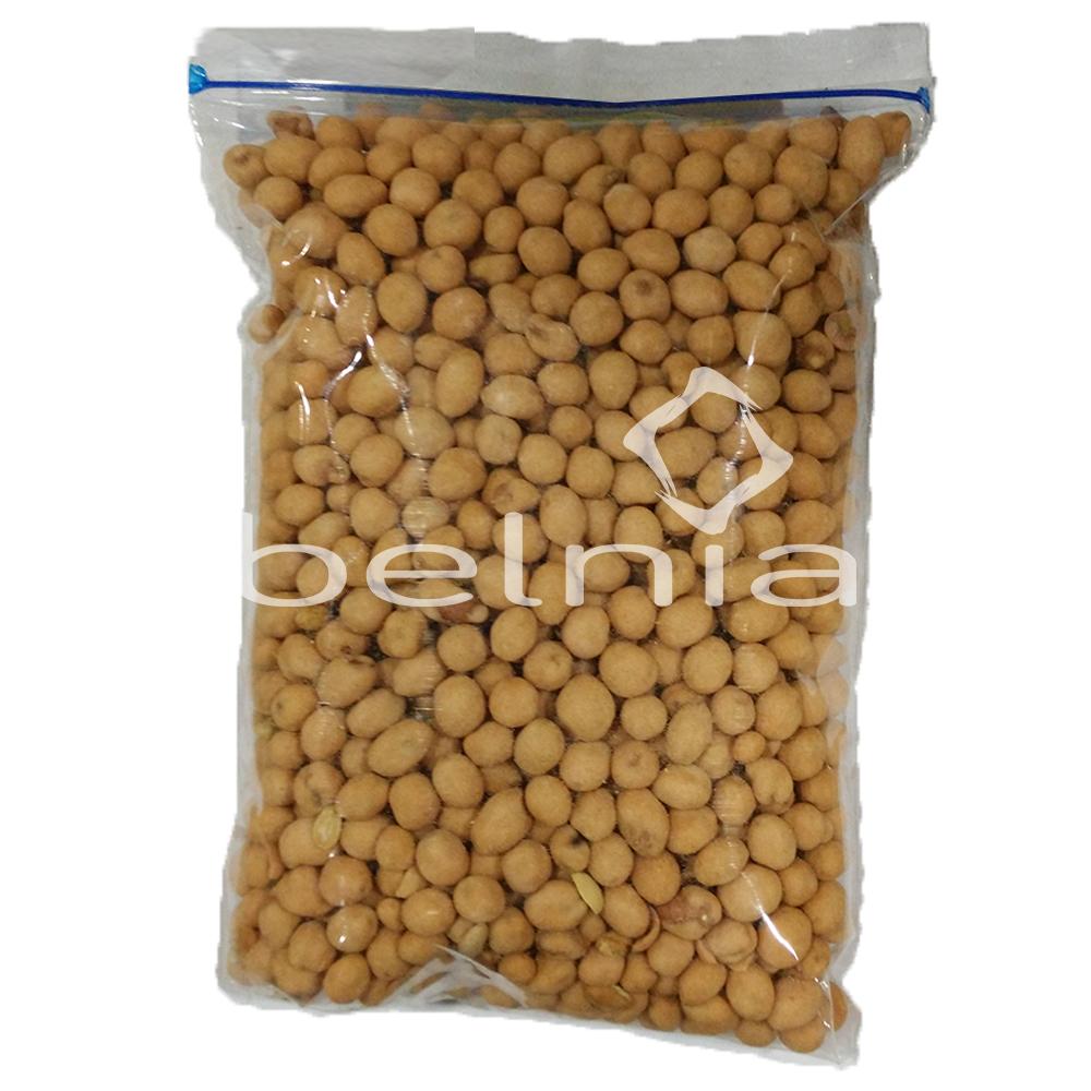 Belnia Shop Line Emping Melinjo Njo Kecil Pedas Daun Jeruk Premium 500 Gram Kacang Atom Crispy Garing