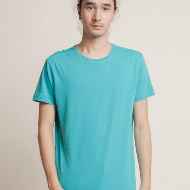 Aeroplain Basic T-shirt Crew Neck - Turqouise: Rp 89.000