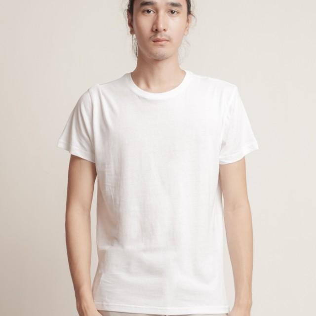Aeroplain Basic T-shirt Crew Neck - White: Rp 89.000
