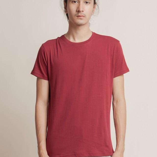 Aeroplain Basic T-shirt Crew Neck - Red: Rp 89.000
