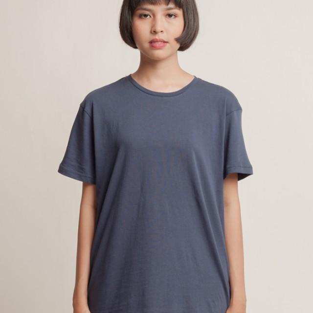 Aeroplain Basic T-shirt Crew Neck - Navy 1.0: Rp 89.000