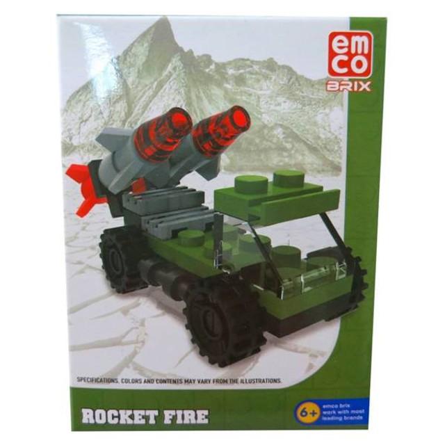 Emco Micro Brix Roket Fire: Rp 14.900 Rp 14.200: 품절