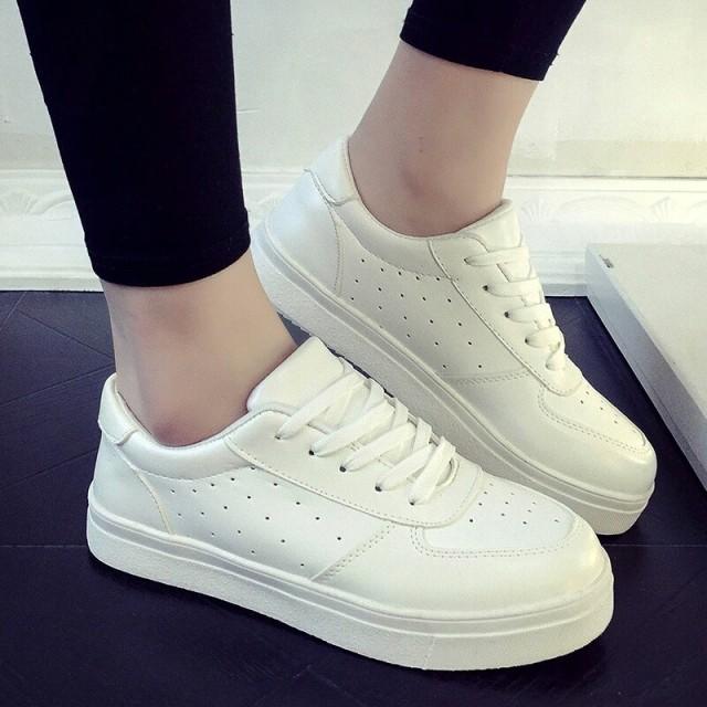 ... Sneakers   Sepatu Wanita Kets Putih Polos. Source · Image Preview c80d50326e