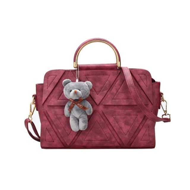 JB 21654 Purple Red Tas Wanita Import Korea - Hongkong  Rp 283.637 Rp  156.000 074cf8a561