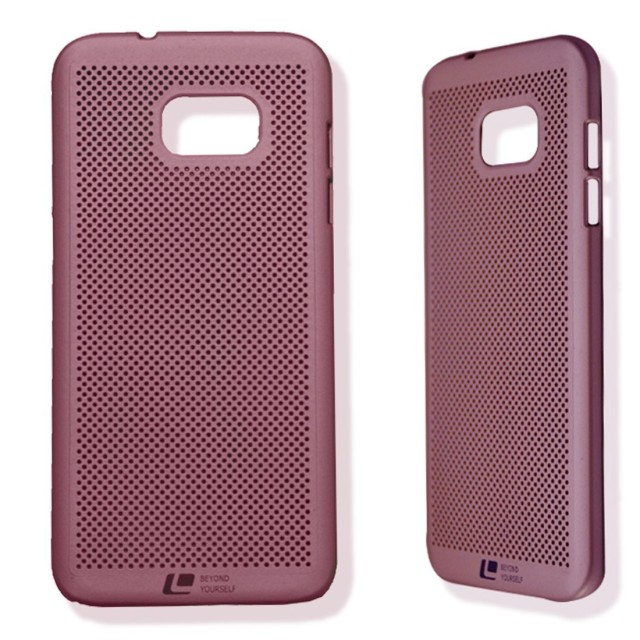 Loopee Air Hard Case for Samsung Galaxy S7 Edge Casing Cover - Rosegold: Rp 140.000 Rp 119.000