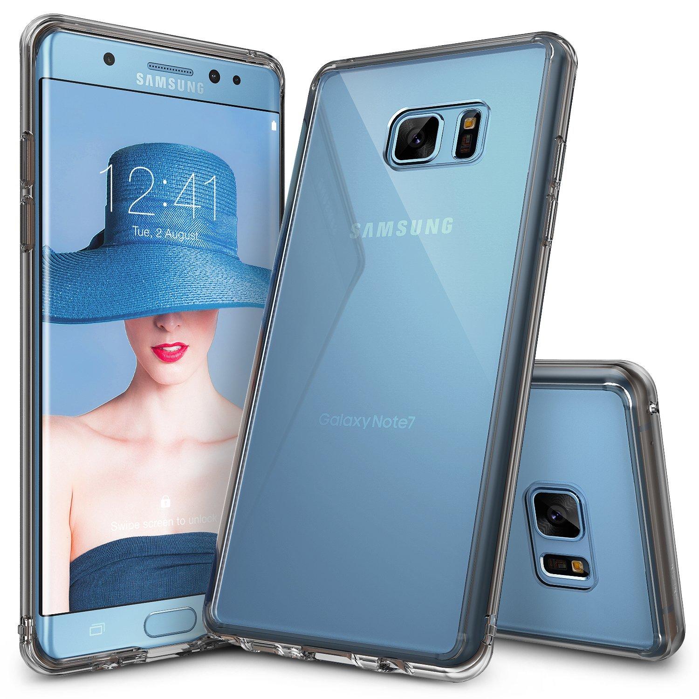 Rearth Ringke Fusion Case Samsung Galaxy Note 7 Casing Cover - Abu-Abu