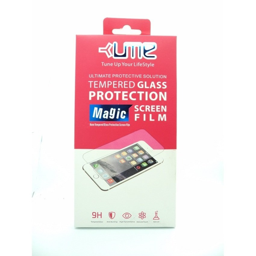 Ume Tempered Glass Lenovo Vibe C Antigores Screen Protector - Transparan