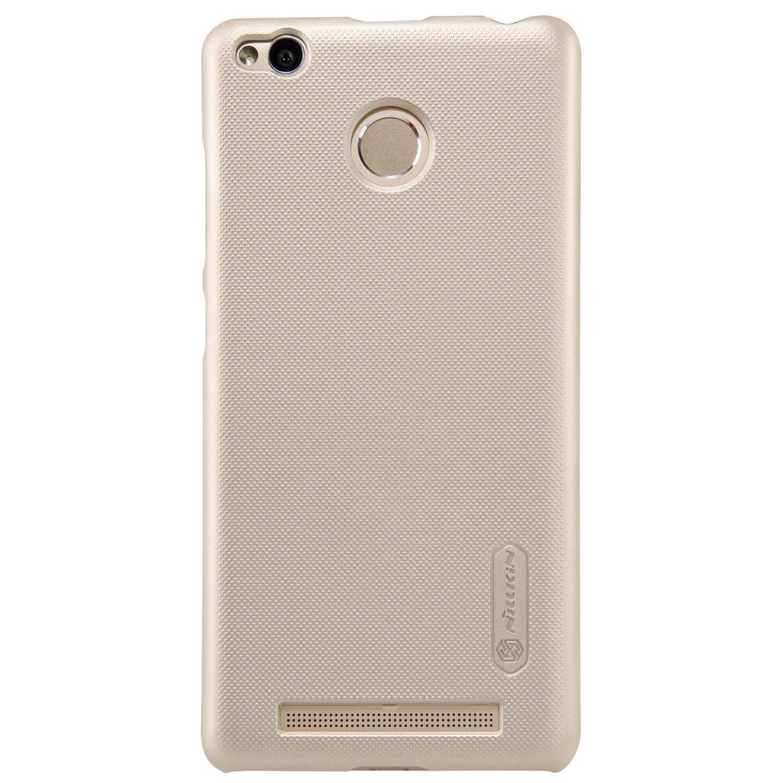 Nillkin Frosted Hard Case Xiaomi Redmi 3 Pro - Casing Cover - Emas