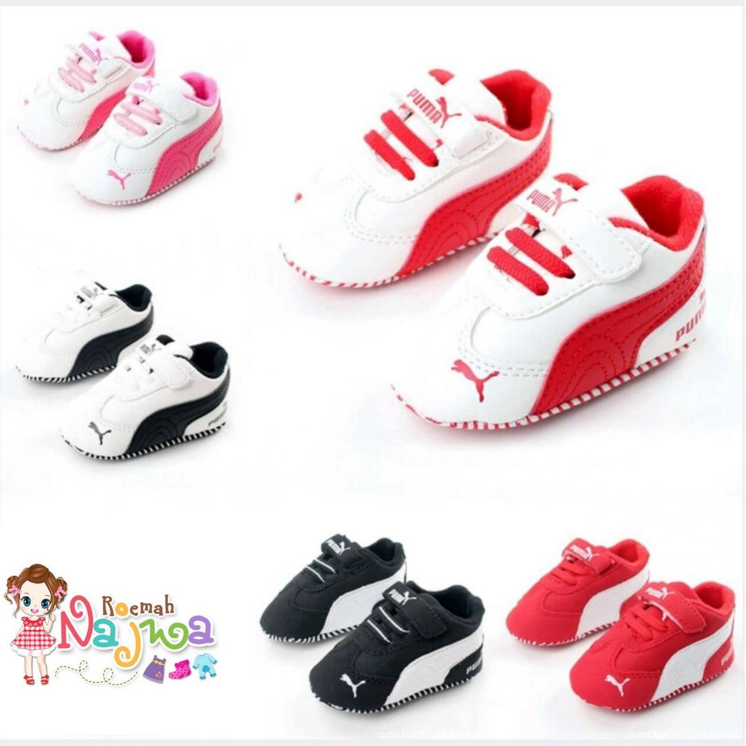 Prewalker Sepatu Bayi Puma Sport b7196782d3