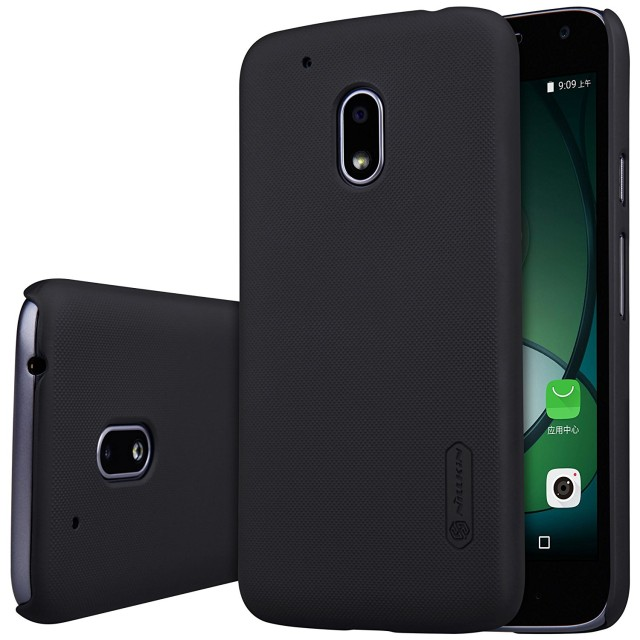 Nillkin Frosted Hard Case Motorola Moto G4 Play - Casing Cover - Hitam: Rp 120.000 Rp 92.000