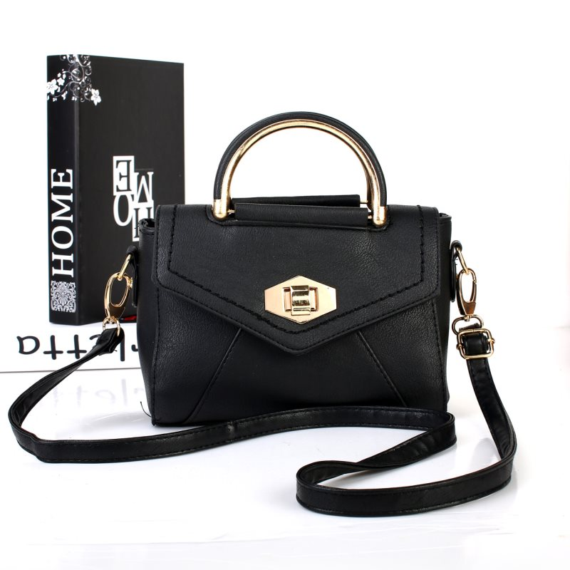 JB21730SN Black Tas Wanita Import Korea - Hongkong ef13dd31d6