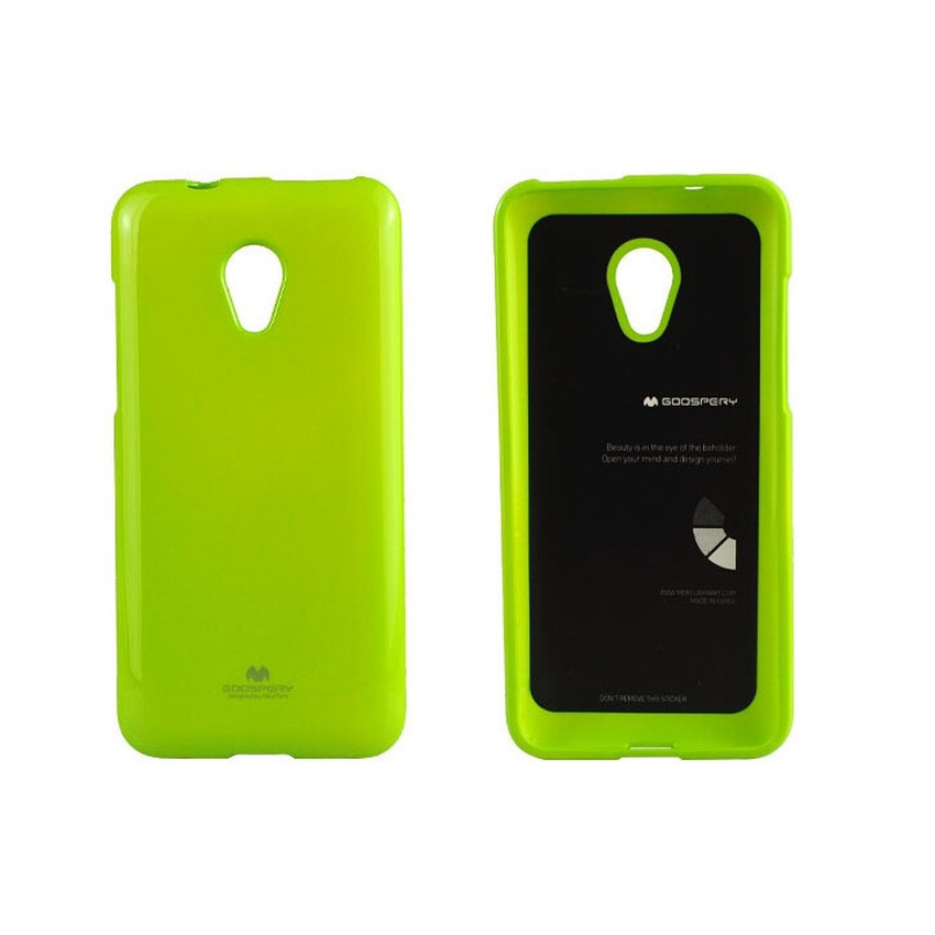 Mercury Jelly TPU Soft Case Oppo Yoyo - Hijau