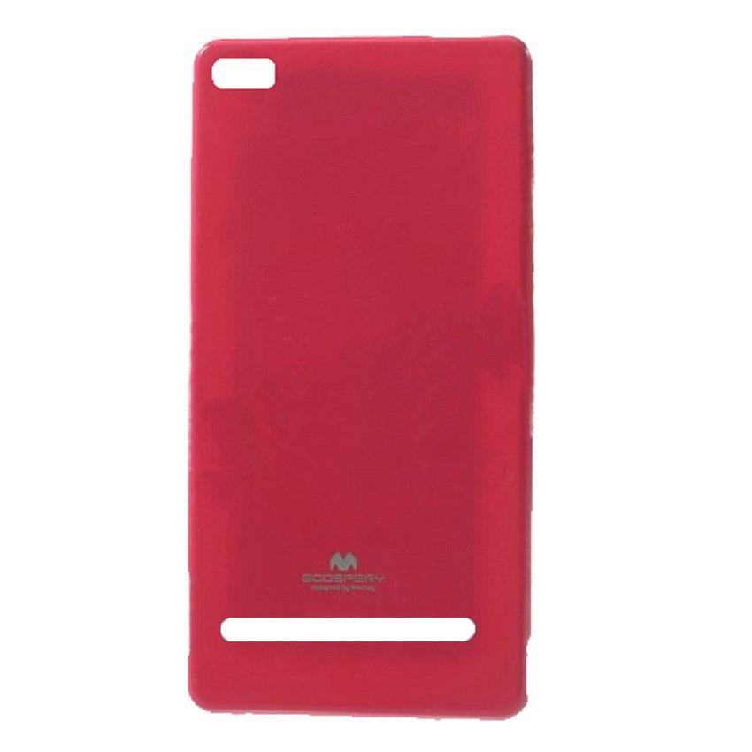 Mercury Jelly TPU Soft Case Xiaomi Redmi 3 - Pink Tua