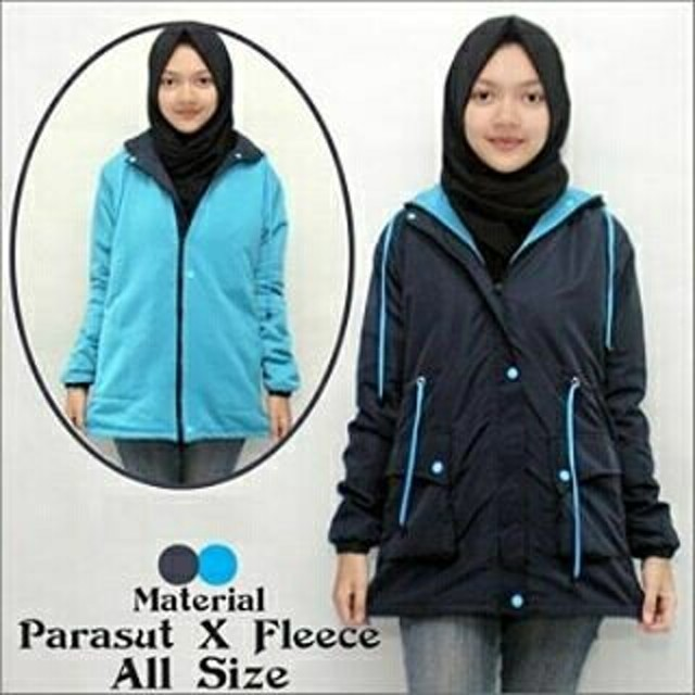 Jaket Parka Wanita Navy Blue - daftar harga Produk Terhangat Di ... 24442126af