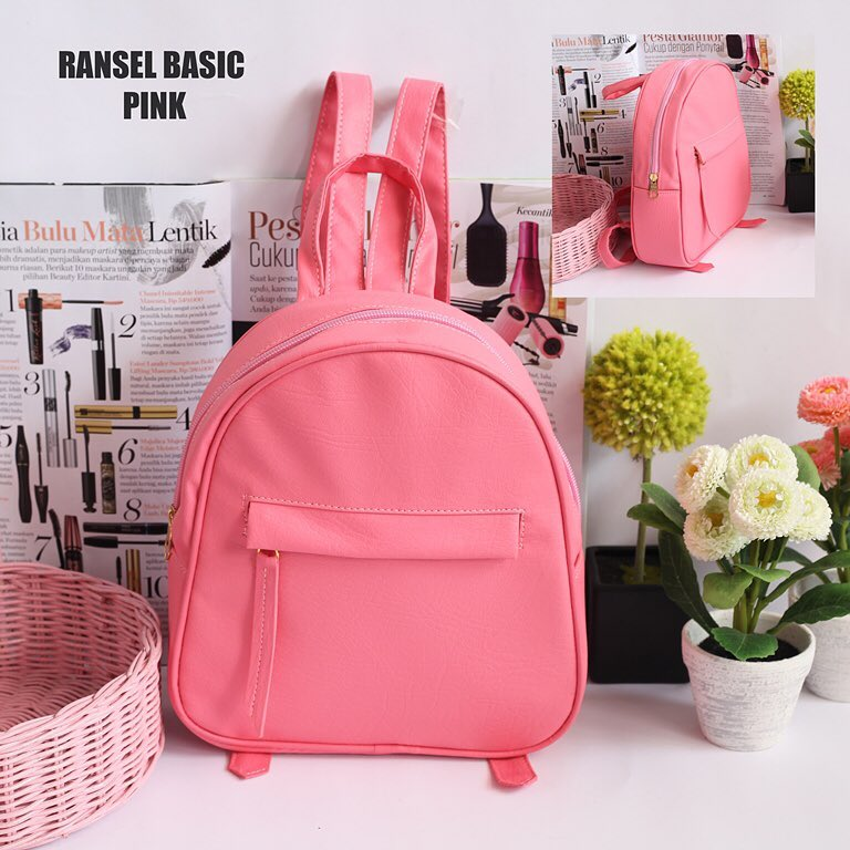 EL Piaza Mini Ransel Backpacks Kulit Tas Ransel Kulit / Sling Bag / Tas Slempang -
