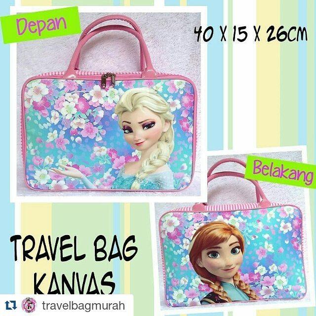 Travel Bag Kanvas Frozen