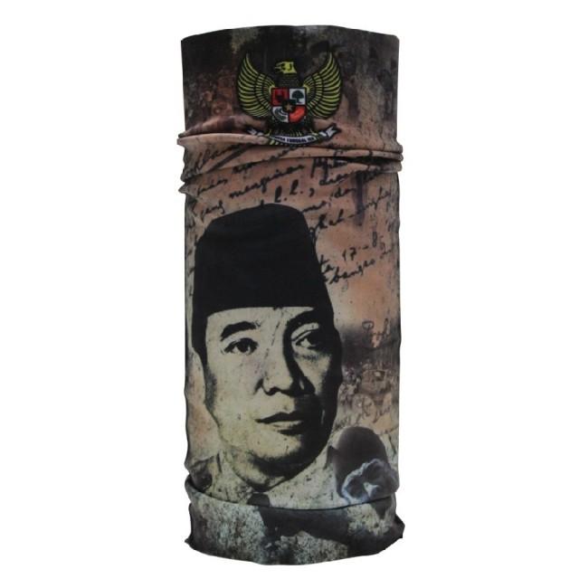 CK Bandana 1403020 Buff Masker Multifungsi Motif Soekarno: Rp 50.000