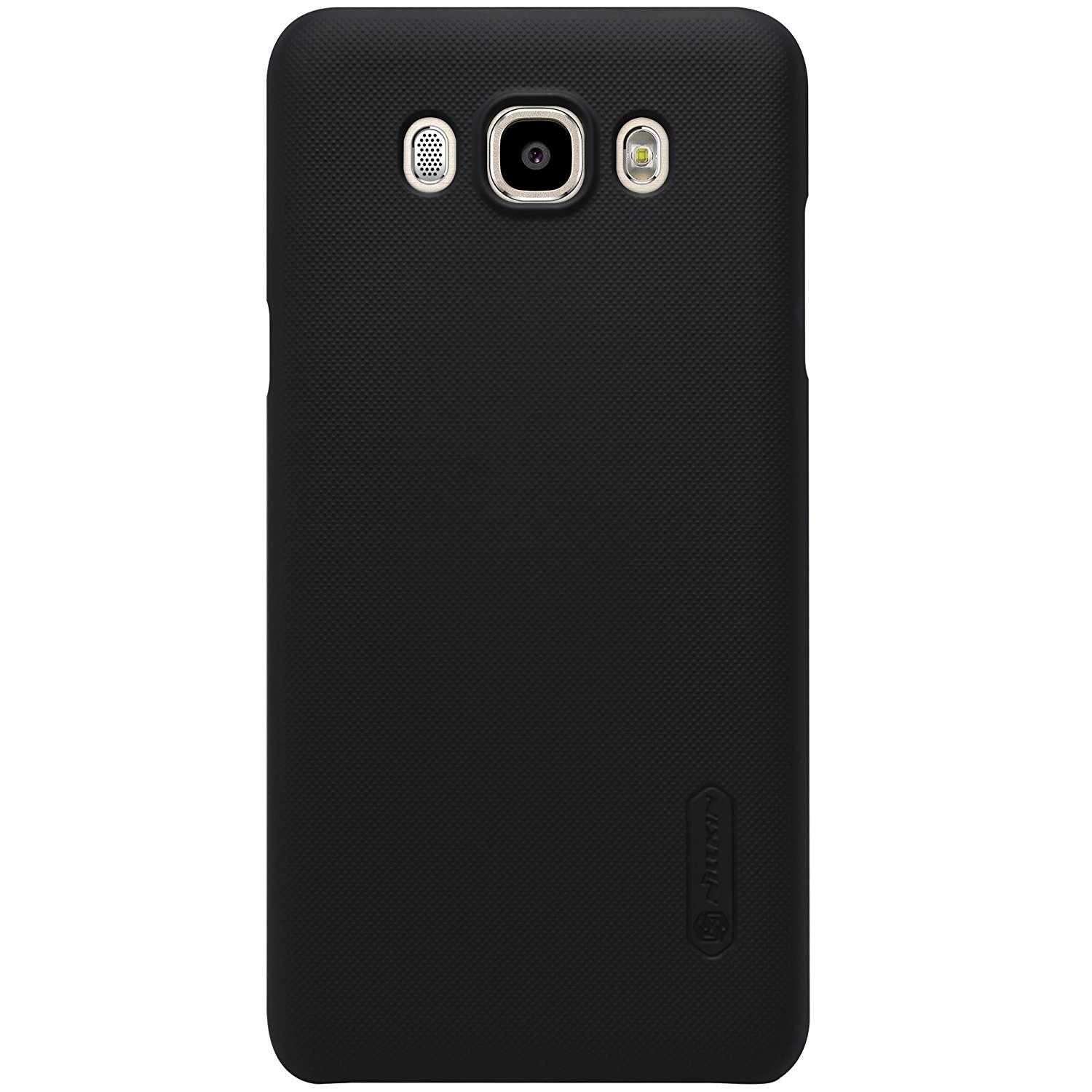 Nillkin Frosted Hard Case Samsung Galaxy J7 2016 Casing Cover - Hitam