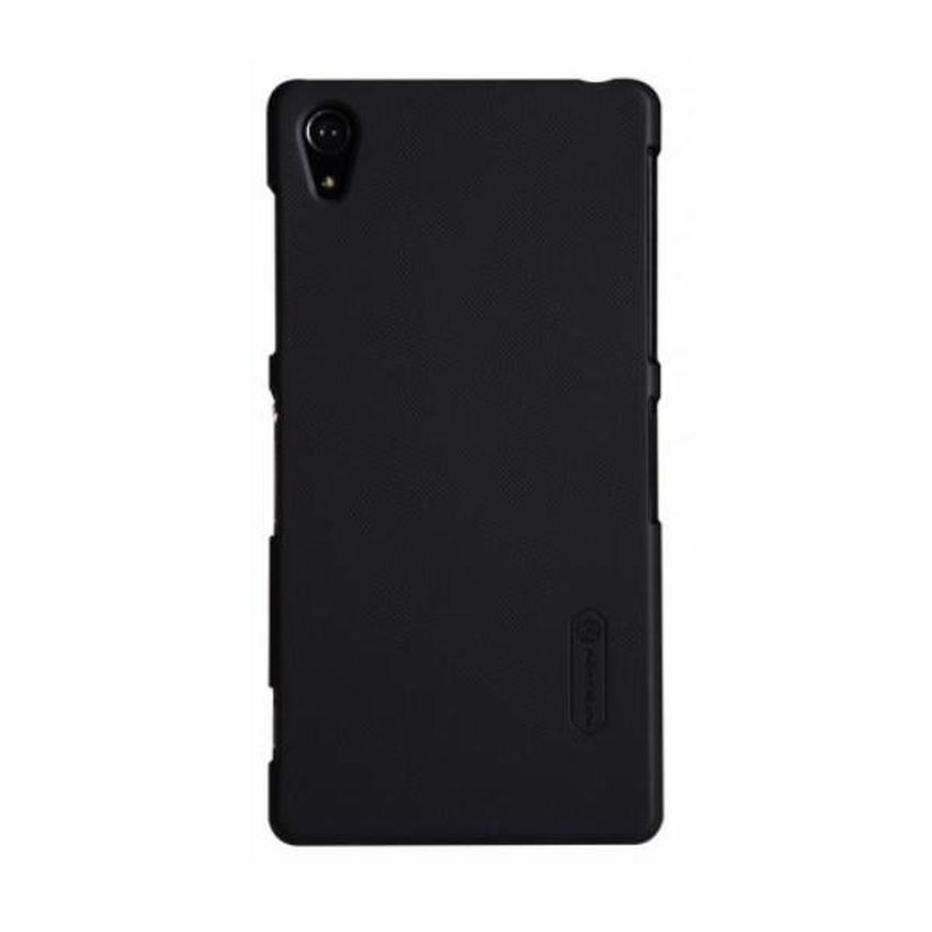 Nillkin Frosted Hard Case for Sony Xperia Z2 Casing Cover - Hitam
