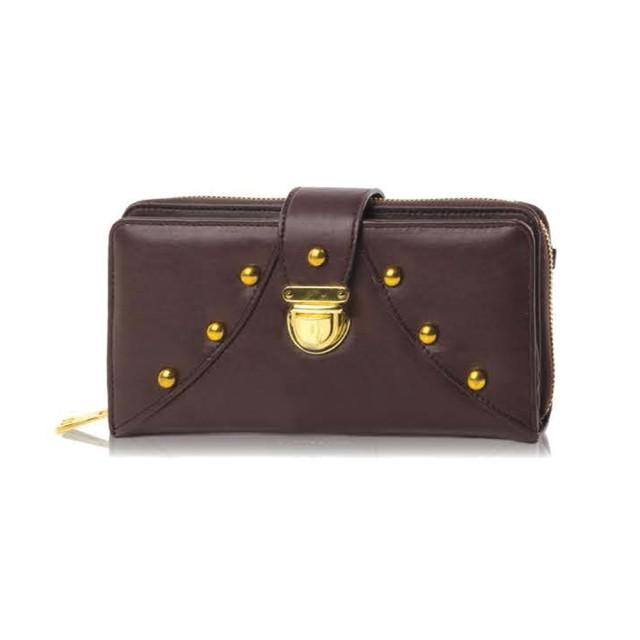 Dompet - Wallet Wanita Coklat Bahan Pvc Original INFICLO: Rp 201.000 Rp 126.630
