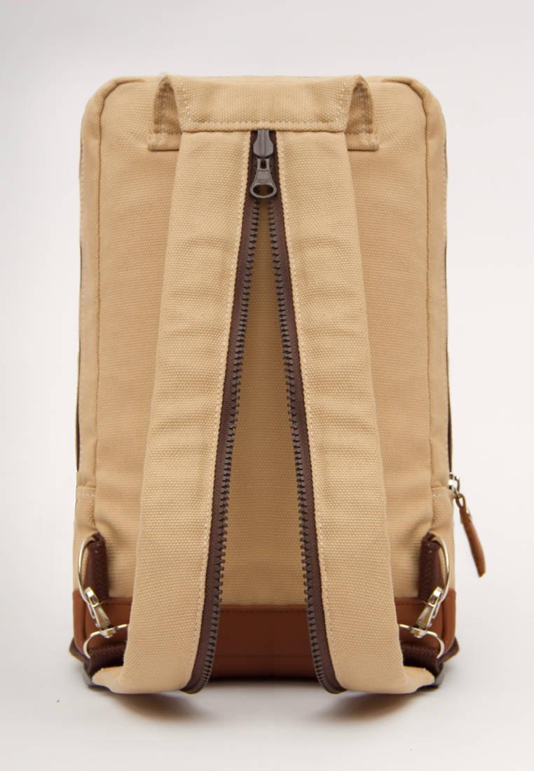 Pria Ganteng Shop Line Tas Selempang Kamera Wanita Premium Ombro Segundo Cream Backpack Simple Cowok Cewek