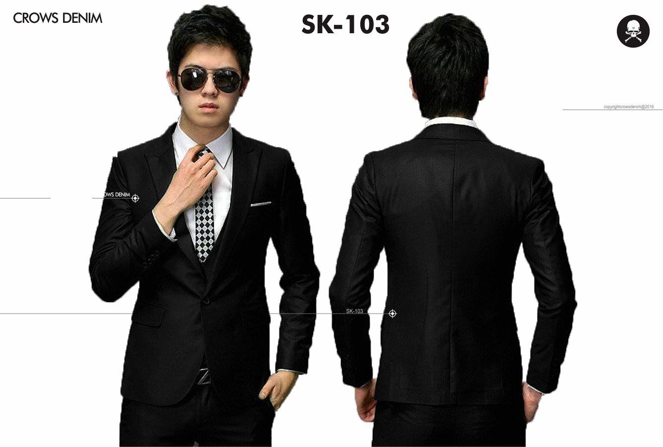 Manzoneid Shop Line Jaket Pria Sk 34 Blazer Korea Jas Pengantin Formal Casual 103