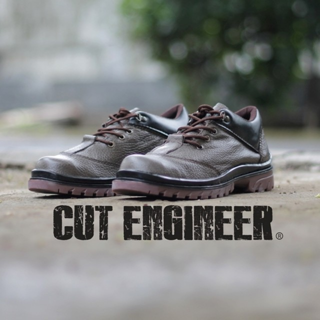 Cut Engineer Safety Low Boots KULIT ASLI Classic Brown: Rp 523.000 · D- Island