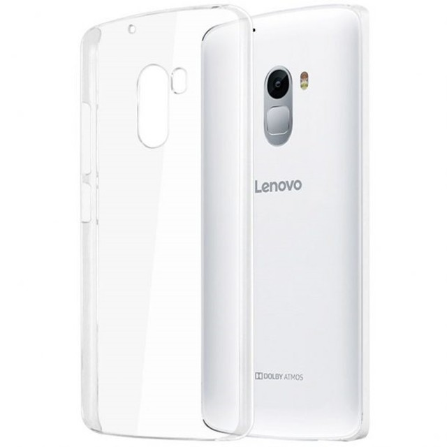 OEM Ultra Thin TPU Soft Case Casing Cover Lenovo K4 Note A7010 - Transparan: Rp