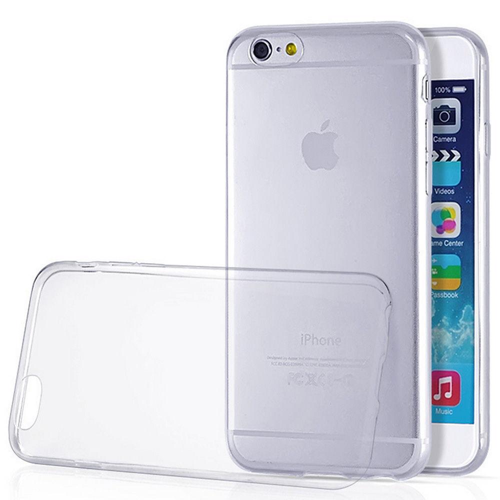 OEM Ultra Thin TPU Soft Case Casing Cover iPhone 6 Plus / 6S Plus - Transparan