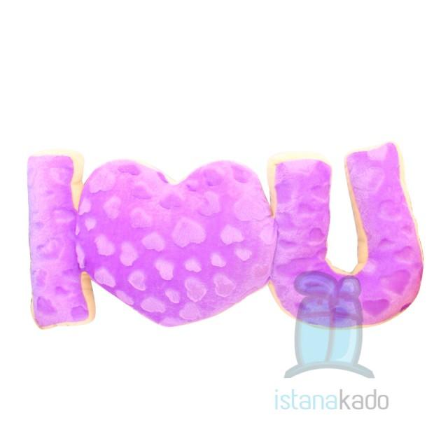 Bantal Love Valentine I Love U  Rp 101.500 Rp 81.200 c068cb4c2e
