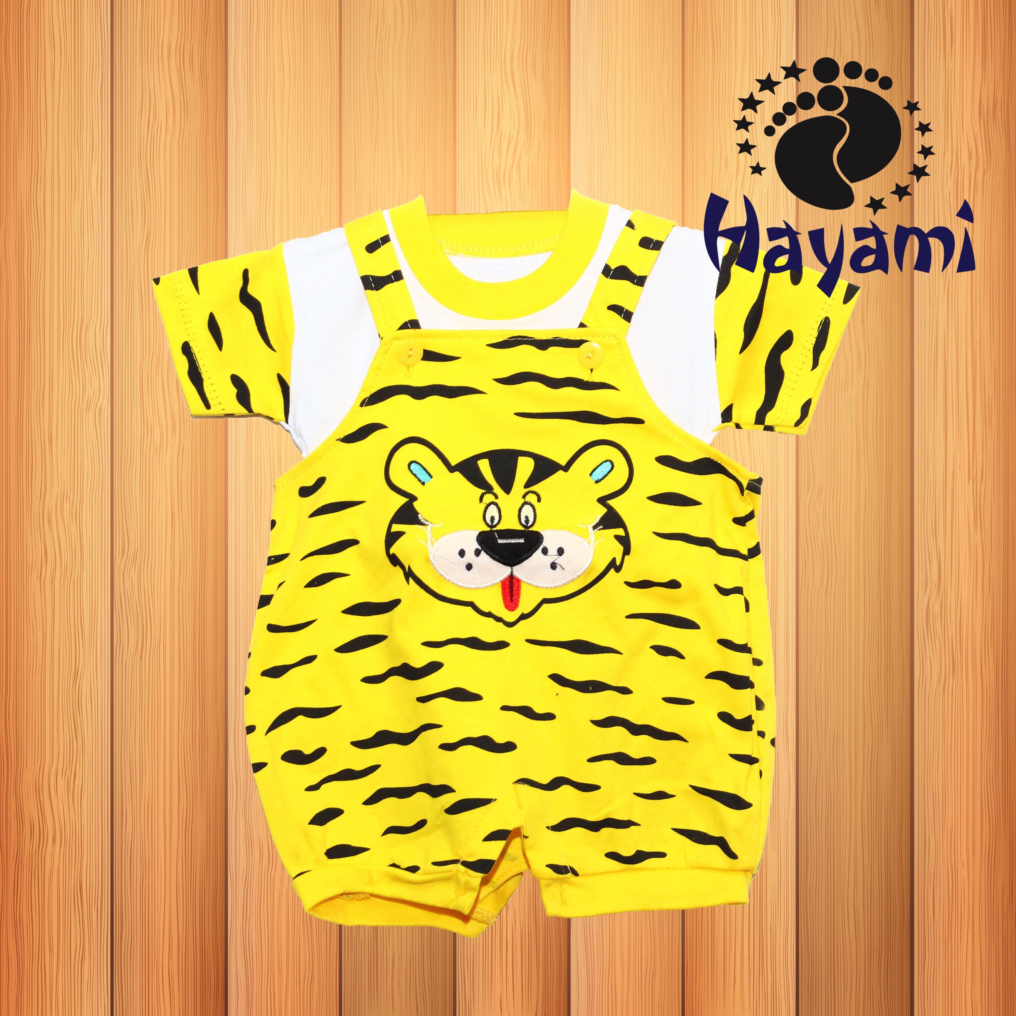 Hayamiid Shop Line Baju Kodok Bayi Allsize 2 12 Bulan Macan Loreng 4w