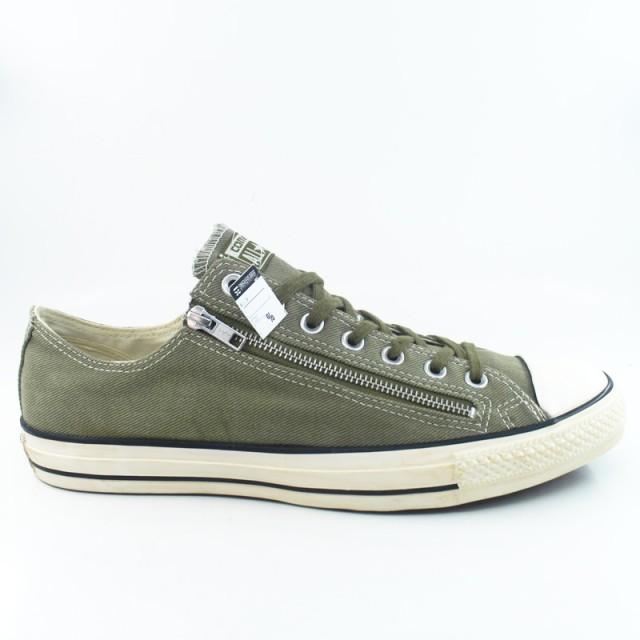 48fb35da86 Sepatu Casual Converse Chuck Taylor OX Double Zip Low Green ORIGINAL  Rp  579.900