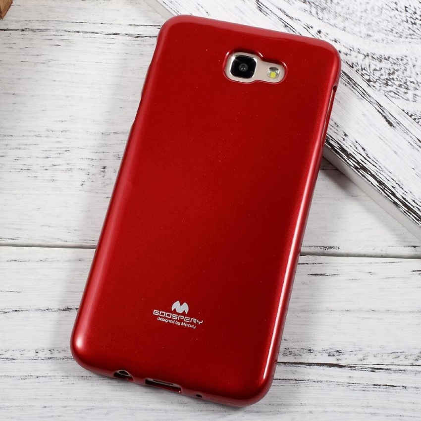 Mercury Jelly Soft Case Casing Cover for Samsung Galaxy J5 Prime - Merah