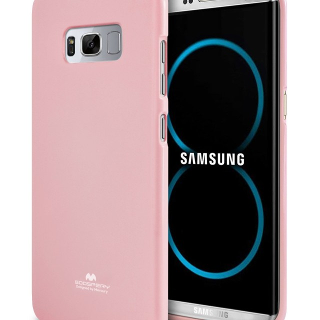 Mercury Jelly Soft Case Casing Cover for Samsung Galaxy S8 Plus - Pink Muda: Rp 109.000 Rp 74.000