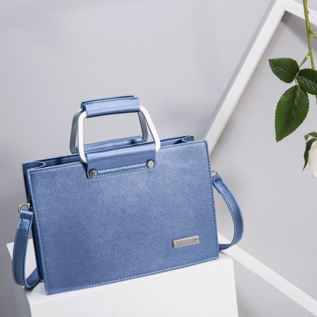 Tas Jims Honey Luna Bag Blue Metallic: Rp 155.000
