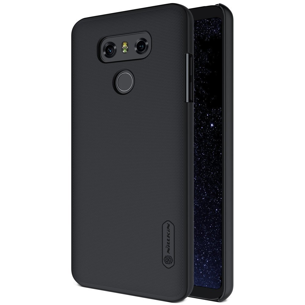 Nillkin Frosted Hard Case Casing Cover for LG G6 - Hitam