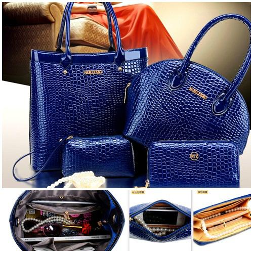 Tas Fashion Import 4in1 Serie 4 Blue 1e2d4f68d9