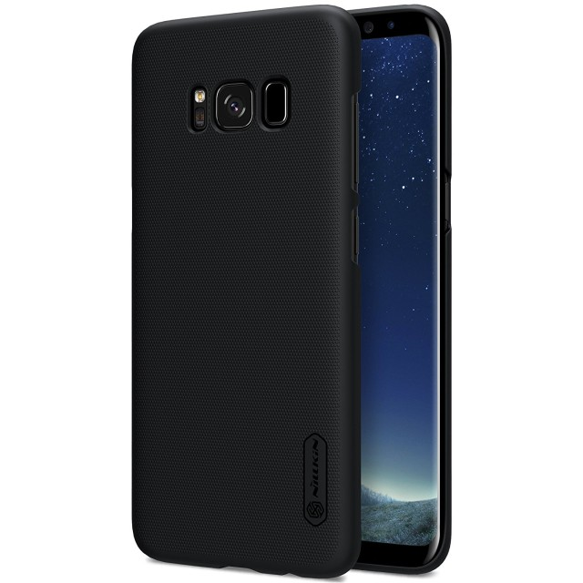 Nillkin Frosted Hard Case Casing Cover for Samsung Galaxy S8 Plus - Hitam: Rp 120.000