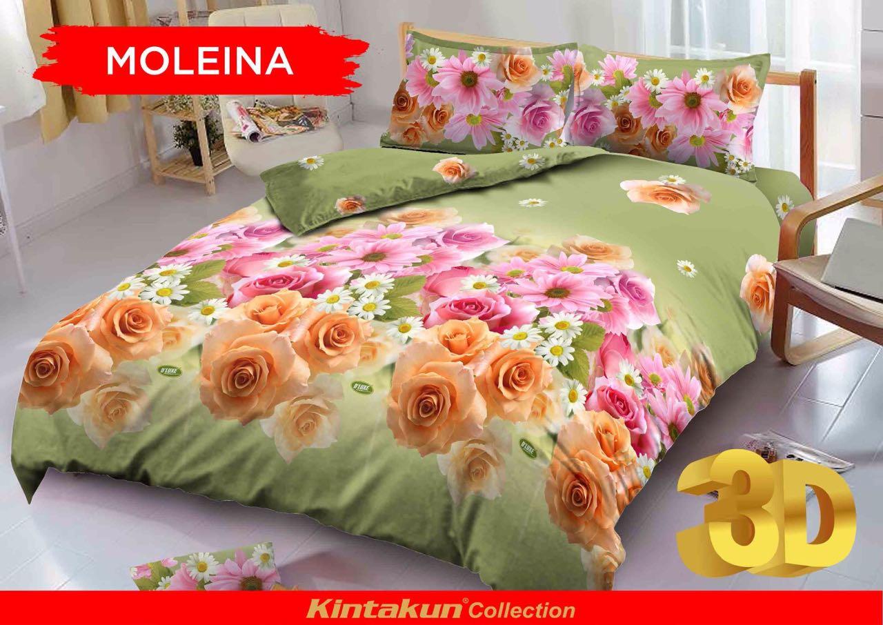I Celo Shop Line Kintakun Dluxe Sprei 120x200 Single Prelude Motif Moleina