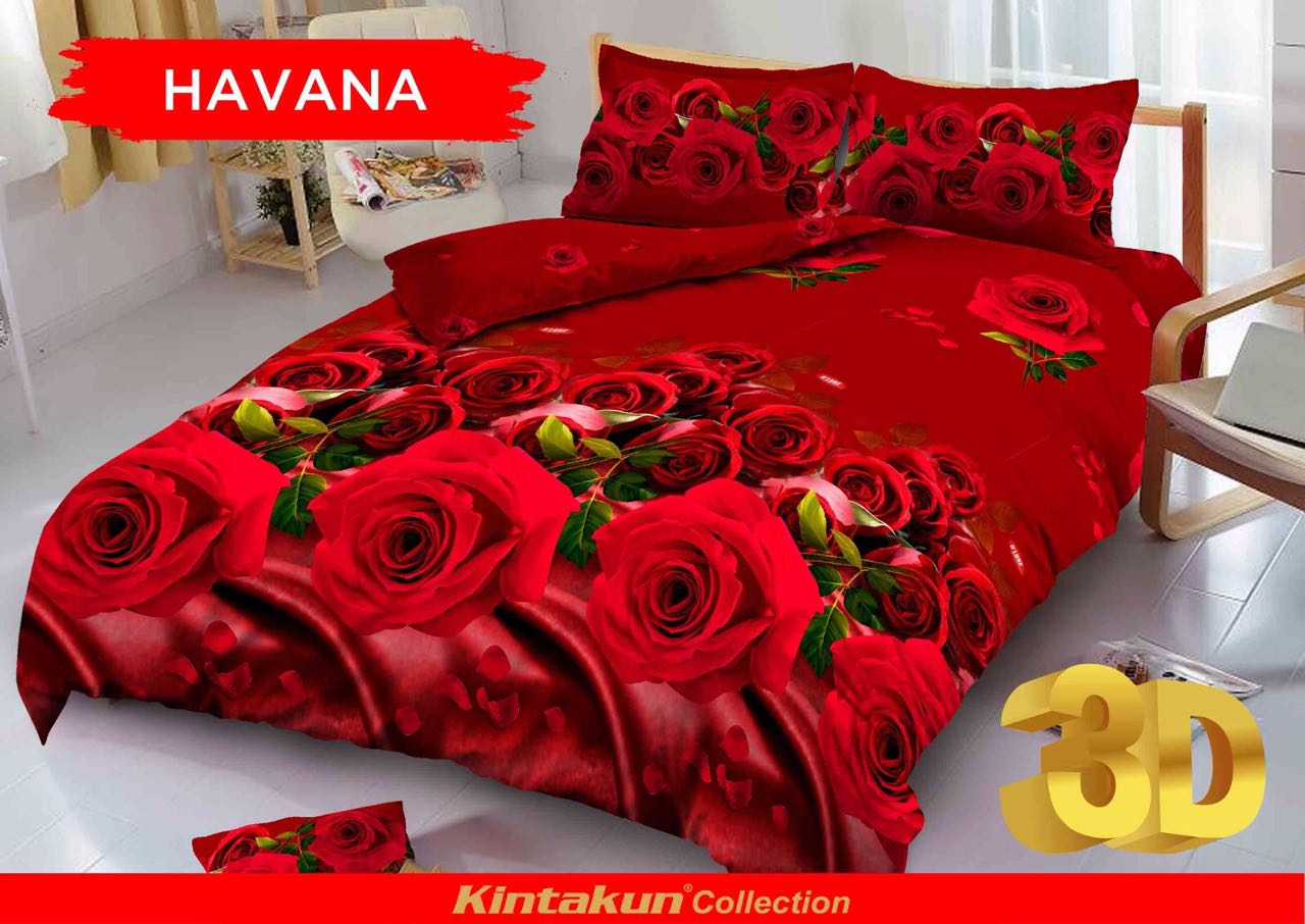 Kintakun Dluxe Sprei Single Motif Havana 120x200 Cm Daftar Harga 2in1 120 X 200 United Flag Golden Bear Beli D Luxe Store Marwanto606 Source
