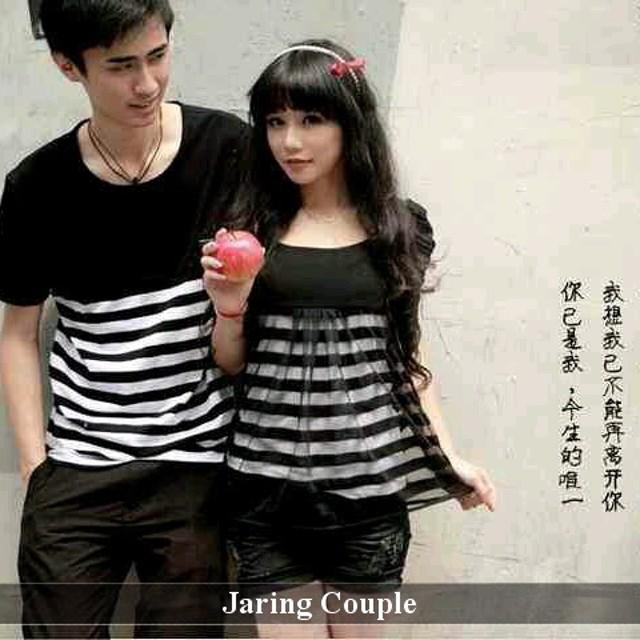 Toko Kaos Couple Terkeren | Grosir Baju Pasangan Murah | Jaring: Rp 65.000