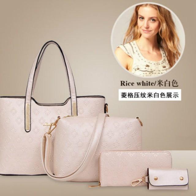 Tas Backpack Fashion High Quality Korean Style 4in1 Rice White Bukalapak. Source · Tas Import