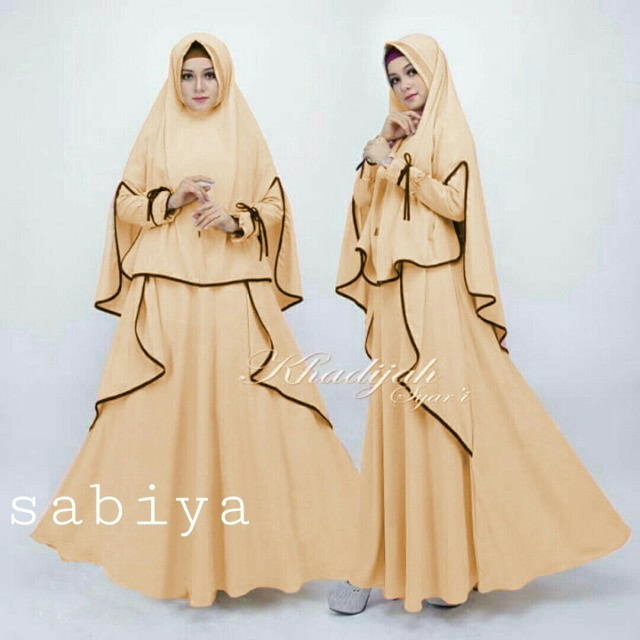 Azure Fashion Indah Syari Green Gamis Wanita Gamis Muslim Daftar Source · Sabiya Syarii Coksu Gamis