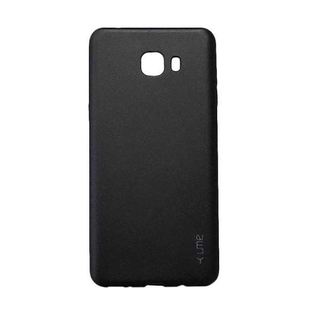 Ume Emerald Soft Case Casing Cover for Samsung Galaxy C9 Pro - Hitam: Rp 80.000 Rp 59.000
