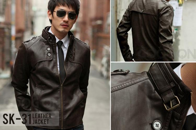 Jaket Kulit Korean Style SK 31