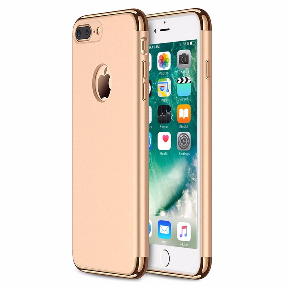 Case Ultrathin Shining Chromefor Oppo F1 Plus Rose Gold Daftar Source · Case 3 in 1 Plated PC Frame Bumper Iphone 7 Plus GOLD